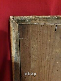 XVIII ème s, miroir, cadre en bois doré